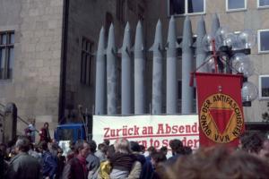 Ostermarsch Heilbronn April 1985 - 1