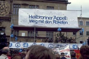 Ostermarsch Heilbronn April 1985 - 3